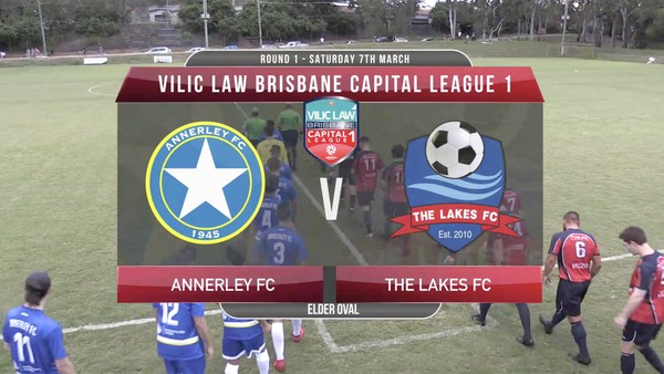 VLCL1 RD1 Annerley v The Lakes FC
