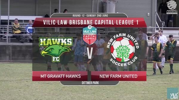 Vilic Law CL1 RD12 Mt Gravatt Hawks v New Farm United