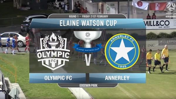 EWC RD1 Olympic FC v Annerley
