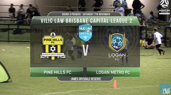 Vilic Law CL2 RD4 Prem Pine Hills FC v Logan Metro FC