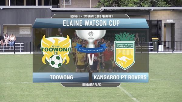 EWC RD1 Toowong v Kangaroo Point Rovers