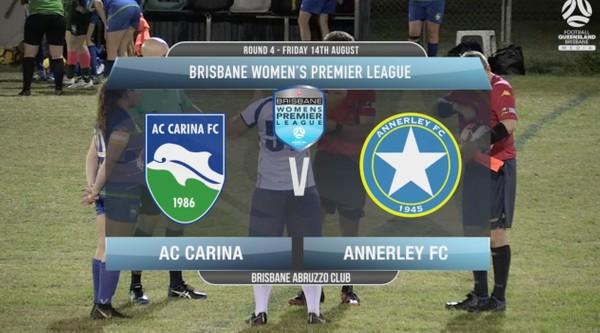 BWPL RD4 AC Carina v Annerley FC