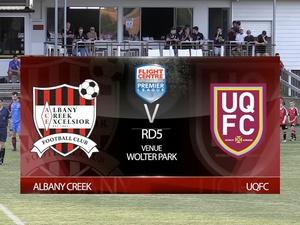 FCBPL RD5 Albany Creek v UQFC
