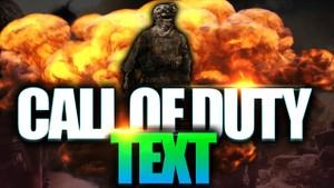 Call of duty thumbnail