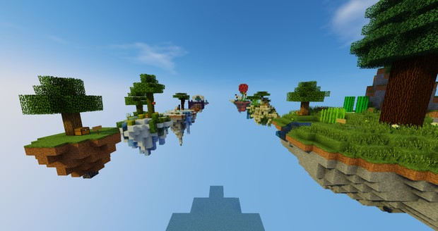 Custom Skyblock islands made by X_Cas_X