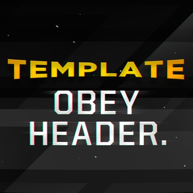 Obey Header Template