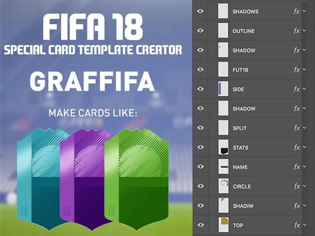 FIFA 18 SPECIAL CARD TEMPLATE CREATOR