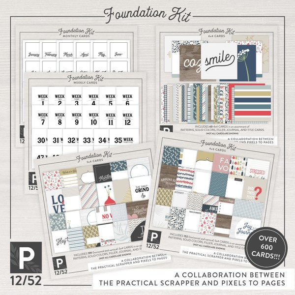 Project 12/52 Foundation Kit