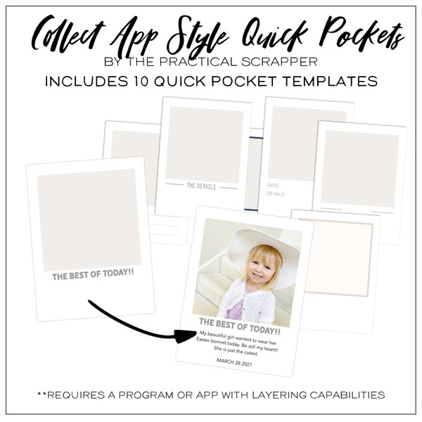 Collect App Style Quick Pockets
