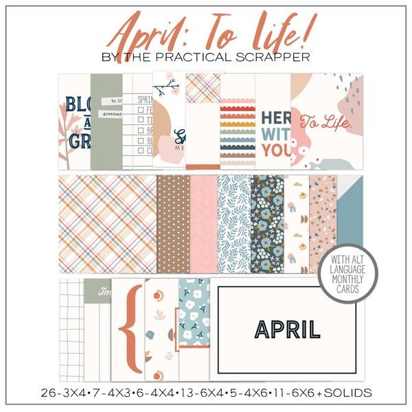 April: To Life!