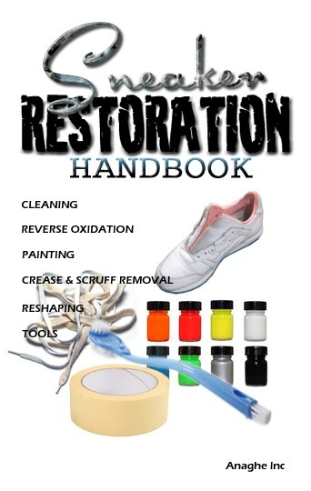 Sneaker Restoration Handbook PaperBack
