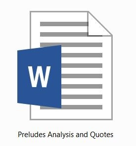 TS Eliot: Preludes: Analysis and Quotes for HSC 2015-2020