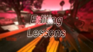 Video Editing Lessons