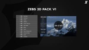 ZeBs 2D Pack V1