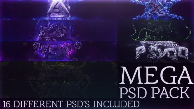Zebs MEGA psd pack (includes 16 PSDS)