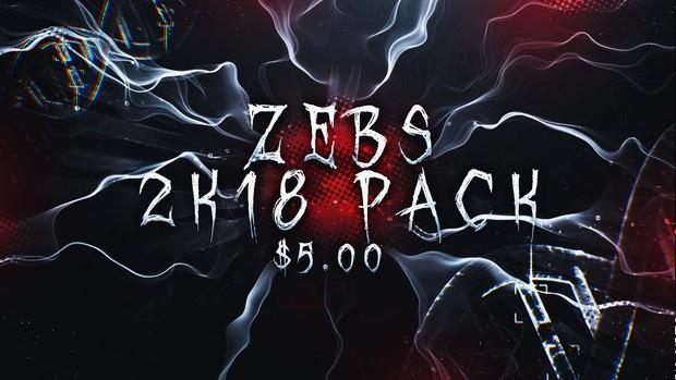 Zebs 2K18 2D Pack