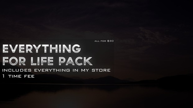 Everything Pack For Life