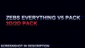 Zebs Everything V5 pack