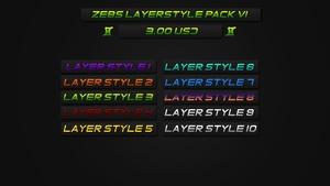 ZeBs Layer Styles V1
