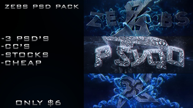 Zebs PSD Pack