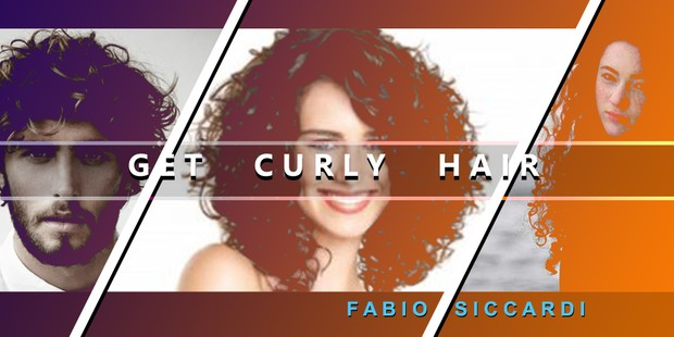 GET CURLY HAIR - With Ultrasonic Option