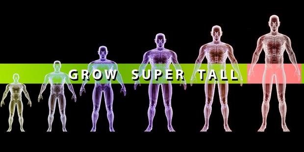 GROW SUPER TALL!
