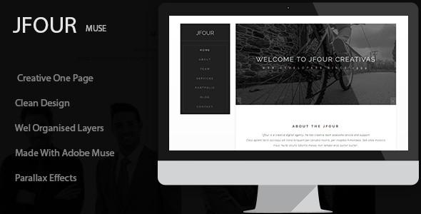Multipurpose Creative Adobe Muse Templates
