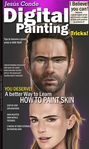 ENGLISH how to paint skin