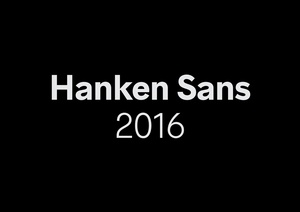 Hanken Sans Typeface Family