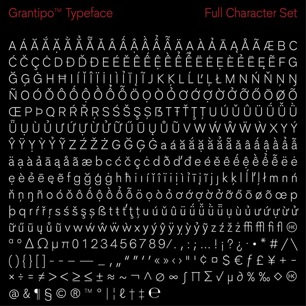 Grantipo Typeface