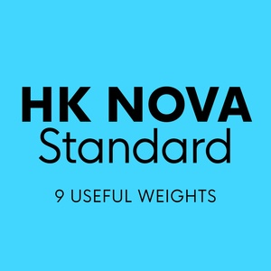 HK Nova™ Typeface Family