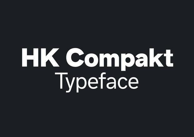HK Compakt Typeface Family