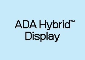 ADA Hybrid™ Display Typeface