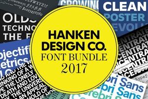 Hanken Design Co. Font Bundle 2017