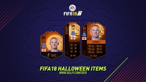 FIFA 18 HALLOWEEN ITEMS