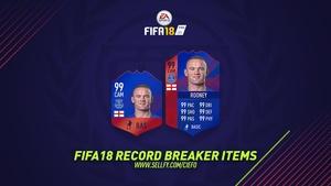 FIFA 18 RECORD BREAKER ITEMS