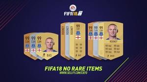 FIFA 18 NO RARE ITEMS