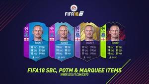 FIFA 18 SBC, POTM & MARQUEE ITEMS