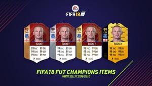 FIFA 18 FUT CHAMPIONS ITEMS