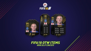 FIFA 18 ONE TO WATCH ITEMS