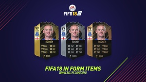 FIFA 18 IN FORM ITEMS