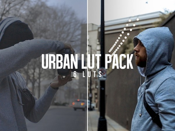 CR Urban LUT Pack | 6 Pack