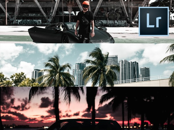 Miami Lightroom Presets | 6 Pack