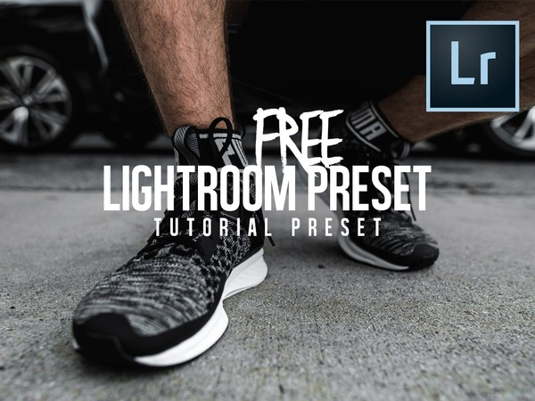 FREE Lightroom Tutorial Preset