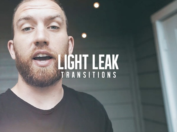 Light Leak Transitions | 55 Pack