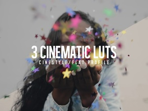 CR CINEMATIC LUTs | 3 Pack