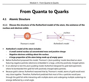 HSC Physics - Module 4 - From Quanta to Quarks