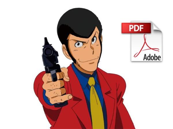 Lupin III - Spartito per Pianoforte