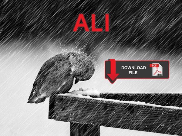 Ali - Spartito per Pianoforte