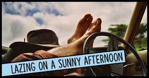 Lazing on a Sunny Afternoon Font